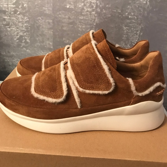 001164438db UGG Ashby Shearling Sneakers